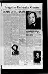 The University Press May 1952 by Langston University
