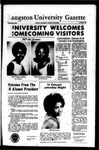 THe Gazette October 1967 (Homecoming Edition) by Langston University