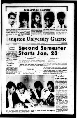 LU Gazette, 1960-1969 | LU Gazette (Student Newspaper