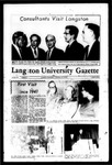The Gazette March 1969 by Langston University