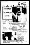 The Gazette August 1969 by Langston University