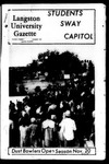 The Gazette November 1969 by Langston University