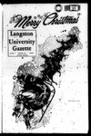 The Gazette December 1969 by Langston University