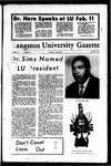 The Gazette January 1970 by Langston University