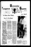 The Gazette February 1970 by Langston University