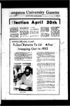 The Gazette March 1970 by Langston University