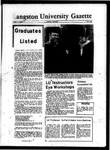 The Gazette May 1970 by Langston University