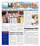 The Gazette September 17, 2004 by Langston University