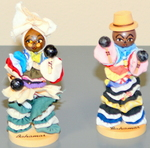 Wood Bahamas Path Dolls