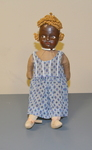 1920 Vinyl Face and Cloth Doll