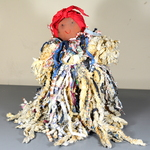 "Hand-Made ""Mammy"" Mop Doll"