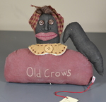 """Old Crow"" Mammy Doll Bust"