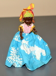 Martinique Island Plastic Doll