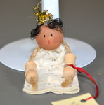 Crowned Christmas Ornament