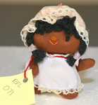 Handmade Bonnet Wearing Baby