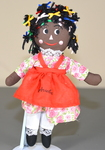 Aruba Tourist Child Rag Doll